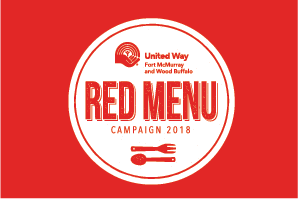United Way Red Menu Campaign